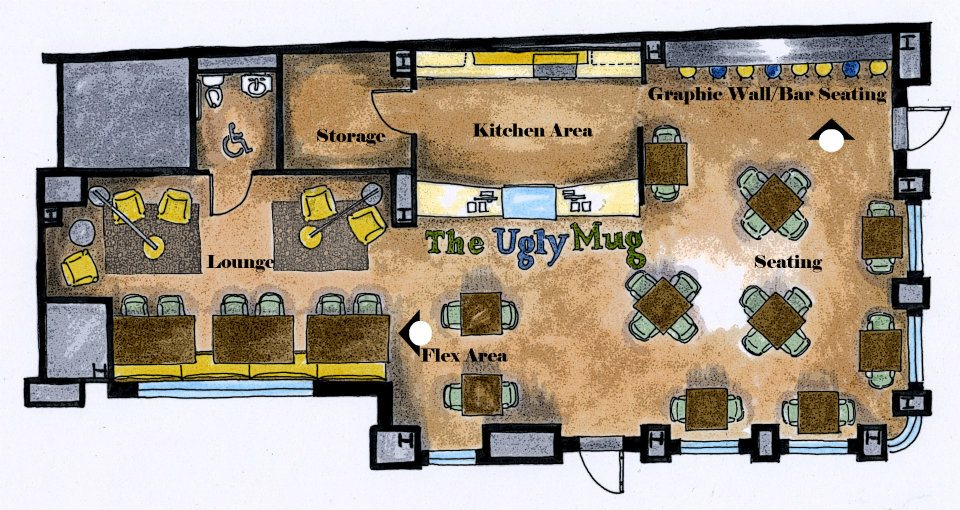 Ugly Mug floor plan