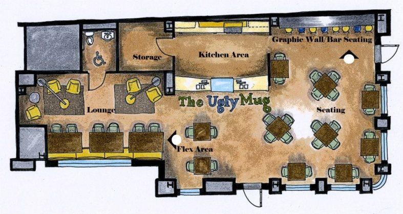 Ugly Mug floor plan