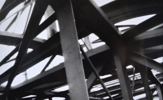 Beams, pinhole photography